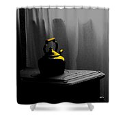 Kettle In Isolation Shower Curtain