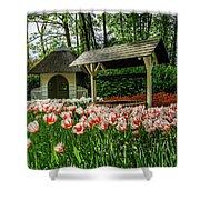Keukenhof Gardens Shower Curtain