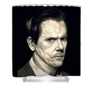 Kevin Bacon - The Following Shower Curtain