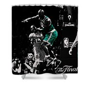 Kevin Garnett Not In Here Shower Curtain