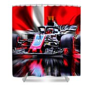 Kevin Magnussen #20 2018 Shower Curtain