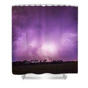 Kewl Nebraska Cg Lightning And Krawlers 018 Shower Curtain
