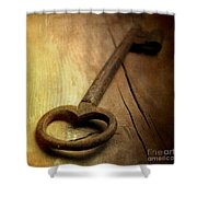 Key Shower Curtain