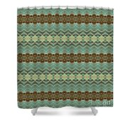 Key Collections 2 Shower Curtain