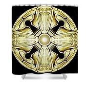 Key Knob Shower Curtain