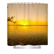 Key Largo Sunrise 2 Shower Curtain