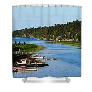Key River Shower Curtain