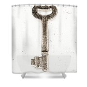 Key To The Union Photo Art Shower Curtain