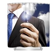 Key To Your Dreams Shower Curtain