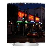 Key West By Night Shower Curtain