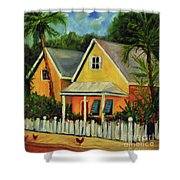 Key West Cottage Shower Curtain