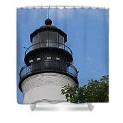 Key West Light Shower Curtain