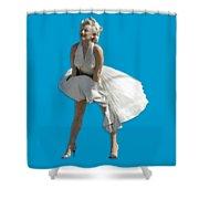 Key West Marilyn - Special Edition Shower Curtain