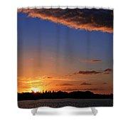 Key West Sunrise 14 Shower Curtain