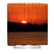 Key West Sunrise 34 Shower Curtain