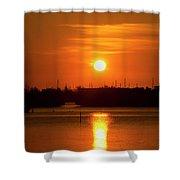 Key West Sunrise 36 Shower Curtain