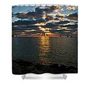 Key West Sunset 10 Shower Curtain