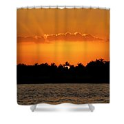 Key West Sunset 25 Shower Curtain