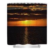 Key West Sunset 29 Shower Curtain