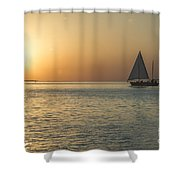 Key West Sunset Shower Curtain