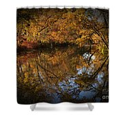Keyhole Reflections Shower Curtain