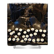 Keys Of Time Shower Curtain