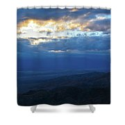 Keys View Sunset Landscape Shower Curtain