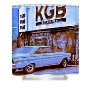 K G B Studios Los Angeles Shower Curtain
