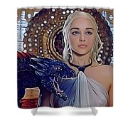 Khaleesi Shower Curtain