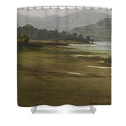 Khandakwasla Haze Shower Curtain