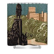 Kharkov, Ukraine, Soviet Union Shower Curtain