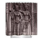 Khmer Court Dancers Shower Curtain