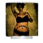 Khrist 1 Shower Curtain