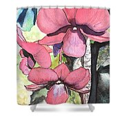 Kiahuna Orchids Shower Curtain