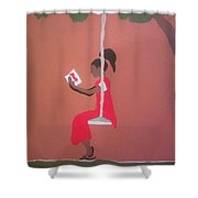 Kianas Twilight Shower Curtain