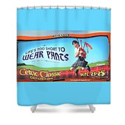 Kick It Up A Notch Shower Curtain