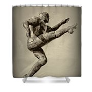 Kick Off Shower Curtain