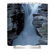 Kicking Horse River Shower Curtain