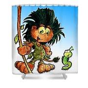 Kid Troll Shower Curtain