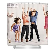Kids Clothing Stores Shower Curtain