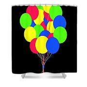 Kids Korner Balloons Shower Curtain