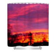 Kiera's Sunset Shower Curtain