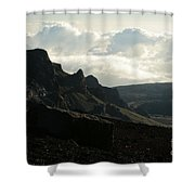 Kilakila O Haleakala Ala Hea Ka La The Sacred House Of The Sun Shower Curtain