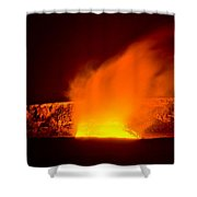 Kilauea Volcano Shower Curtain