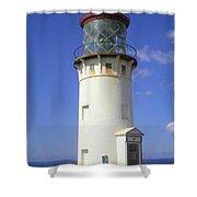 Kilaueau Lighthouse Shower Curtain
