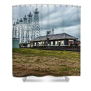 Kilgore  Depot Shower Curtain