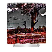 Kilkeasy Water Well, Evening Time Shower Curtain
