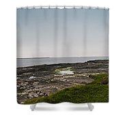 Kilkee Coastline Shower Curtain