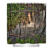 Kill Creek 8283 Shower Curtain