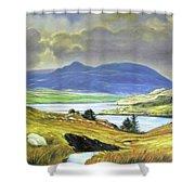 Killary Harbour County Mayo Shower Curtain